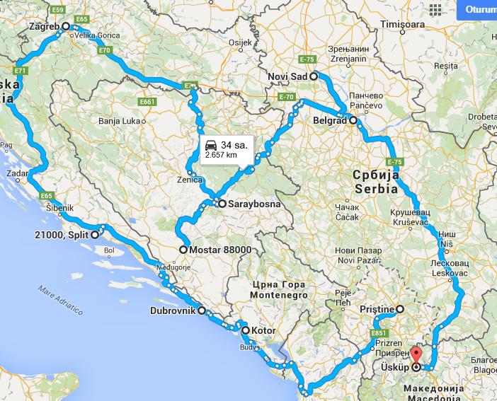 14 Günde Ekonomik BalkanlarYolculuğu