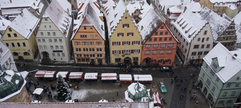 Unutulmaz Bir Noel Masalı: Rothenburg ob derTauber